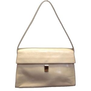 Furla Leather Beige Shoulder Bag